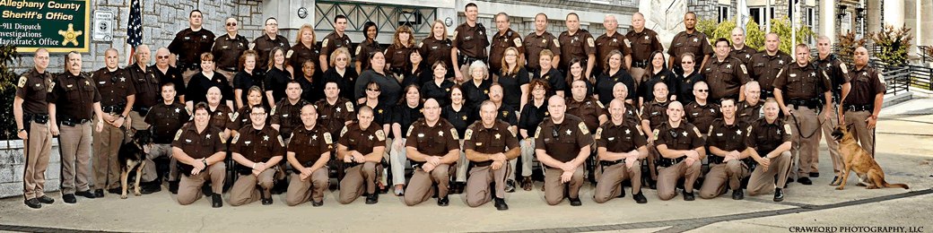 Alleghany County Sheriff's Office and Regional Jail 2014 personnel