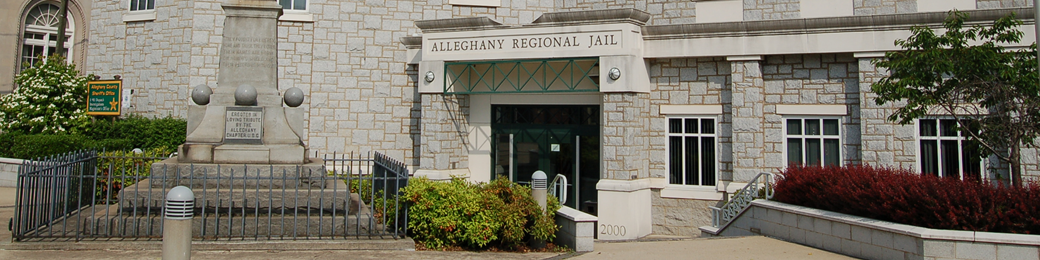 Alleghany County Sheriff's Office and Regional Jail entrance