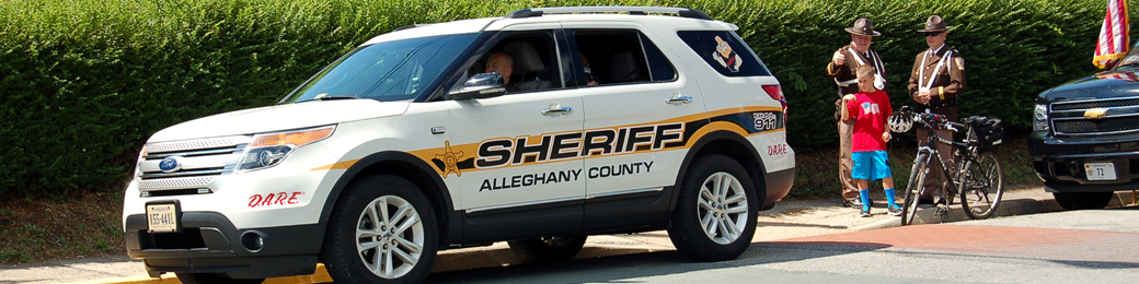 Alleghany County Sheriff's Office and Regional Jail 2014 July 4th parade